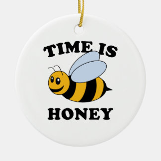 Time Is Honey Christmas Ornament