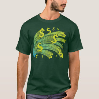Time Is Money Dollar Symbol T-Shirt