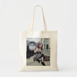 time keeps ticking steampunk faery bag