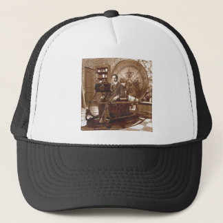 Time Machine - HG Wells Trucker Hat
