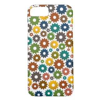 Time Machine Pattern in Colours iPhone 8/7 Case