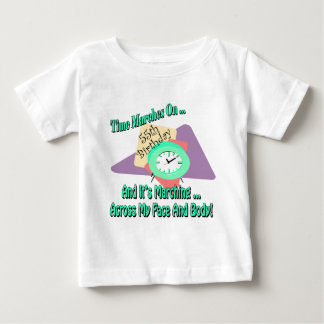 Time Marches On 55th Birthday Gifts T-shirts