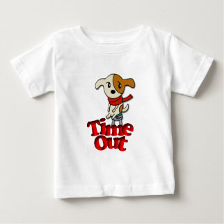 Time Out Pup Baby T-Shirt