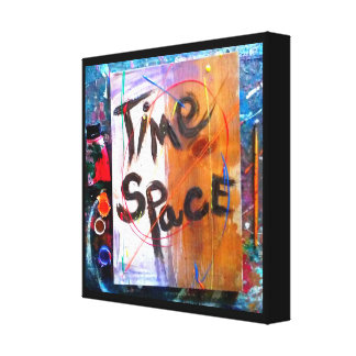 Time Space Gallery Wrap Canvas