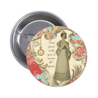 Time Spent With You 6 Cm Round Badge