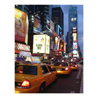 Time Square Taxis Custom Flyer