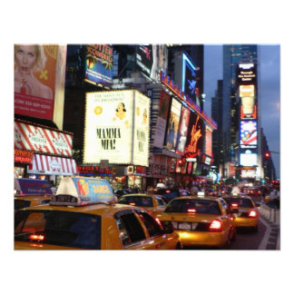 Time Square Taxis Invites
