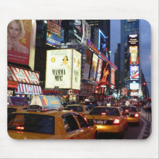 Time Square Taxis Mouse Mat