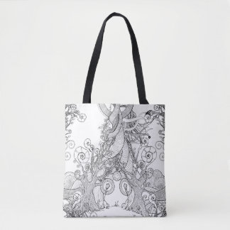 TIME STANDS STILL (TOTE) TOTE BAG