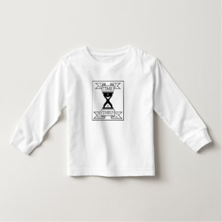 Time Thief with Roman Numerals Toddler T-Shirt