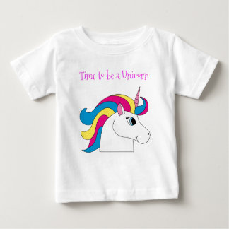 Time to be a Unicorn Baby T-shirt
