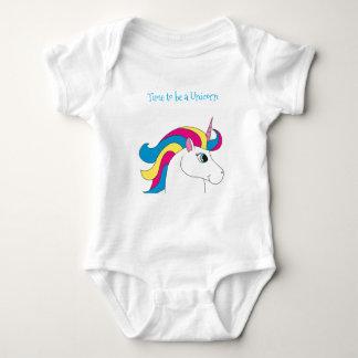 Time to be a Unicorn Bodysuit. Baby Bodysuit