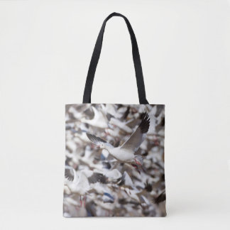 Time to blast off tote bag