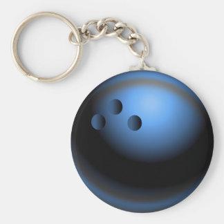 Time to Bowl Key Ring