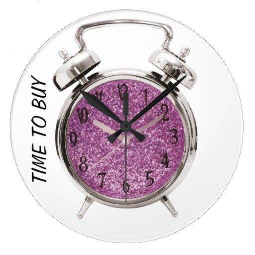 time to buy clocks