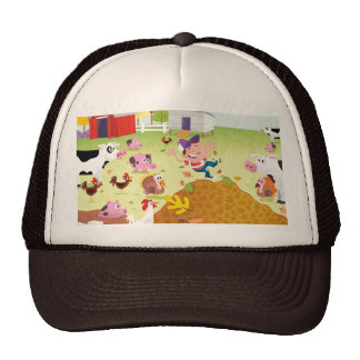 Time to Count - Farmyard Cap