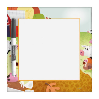 Time to Count - Farmyard Dry Erase Board