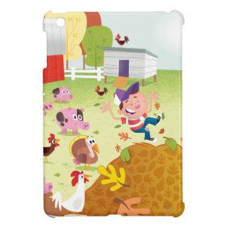 Time to Count - Farmyard iPad Mini Case