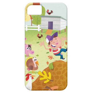 Time to Count - Farmyard iPhone 5 Case