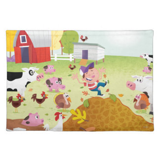 Time to Count - Farmyard Placemat