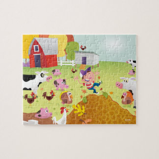 Time to Count - Farmyard Puzzles