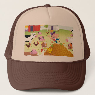 Time to Count - Farmyard Trucker Hat