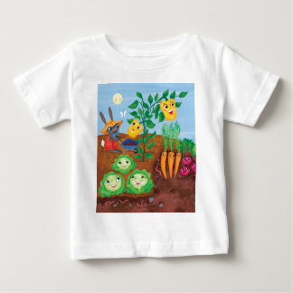 Time To Count-Garden Baby T-Shirt