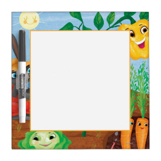 Time To Count-Garden Dry Erase Board