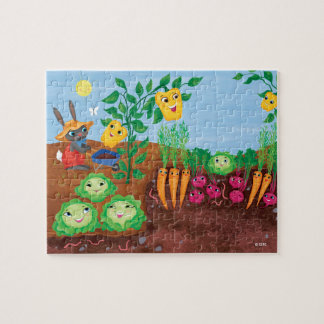 Time To Count-Garden Jigsaw Puzzle