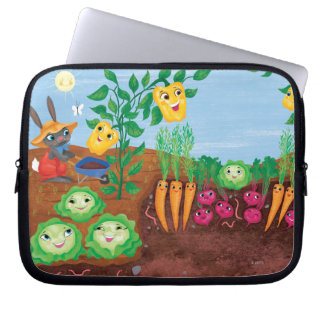 Time To Count-Garden Laptop Sleeve