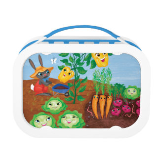 Time To Count-Garden Lunch Box