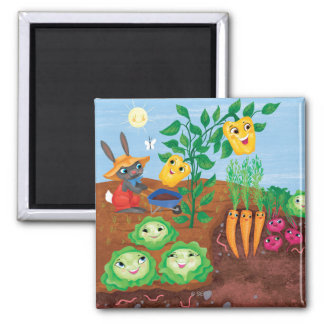 Time To Count-Garden Magnet