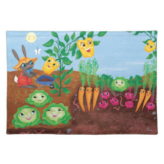 Time To Count-Garden Placemat