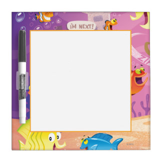 Time To Count-Under the Sea Dry Erase Board