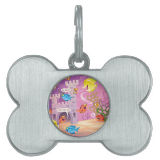 Time To Count-Under the Sea Pet Name Tag