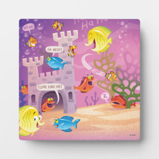 Time To Count-Under the Sea Photo Plaques