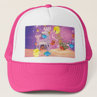 Time To Count-Under the Sea Trucker Hat