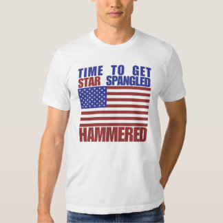 Time to get star spangled hammered t shirts