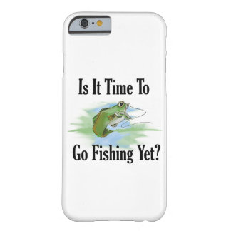 Time To Go Fishing Smartphone Case Barely There iPhone 6 Case