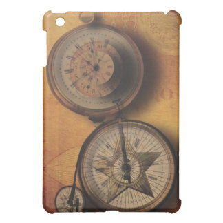 Time to Go Steampunk Clock on Victorian Bicycle iPad Mini Cover