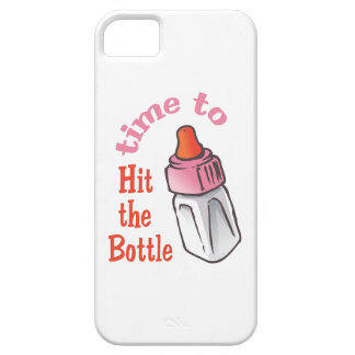 TIME TO HIT THE BOTTLE iPhone 5 COVERS