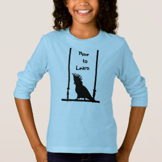 Time To Learn Parrot T-Shirt