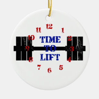 Time To Lift Christmas Ornament