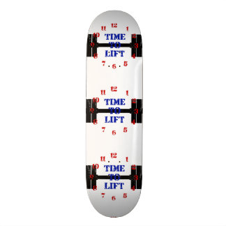 Time To Lift Skateboards