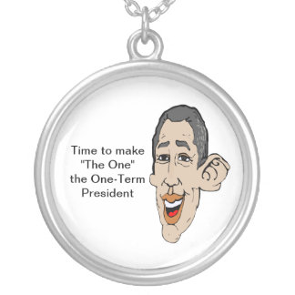 """TIme to make """"The One"""" a OneTerm President Round Pendant Necklace"""