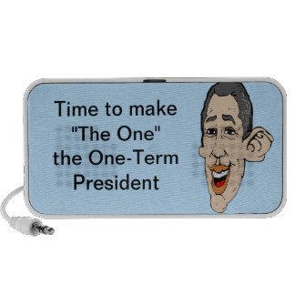 "TIme to make ""The One"" a OneTerm President Notebook Speakers"