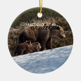 Time To Move On; Customizable Christmas Ornament