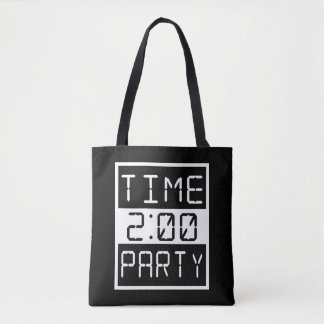Time to Party Tote Bag