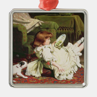 Time to Play, 1886 Christmas Ornament