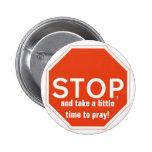Time to pray Button